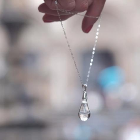 Colgante Gota de Lluvia de Santiago