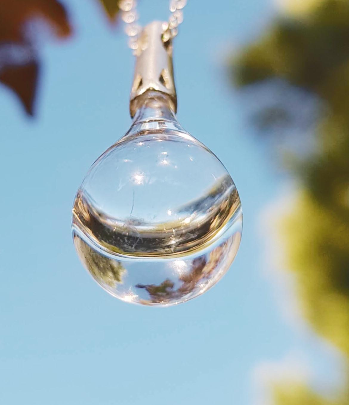 El vidrio de nuestra Gota de Lluvia